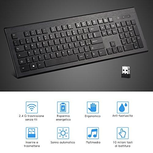 Zoom IMG-3 topelek tastiera wireless italiana ultrasottile