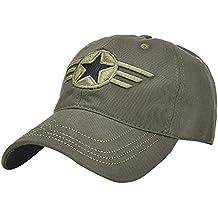 Dwevkeful Gorra de Béisbol para Hombre Mujer,Estampada Camuflaje Sombreros de Cowboy Lavada Gorra de