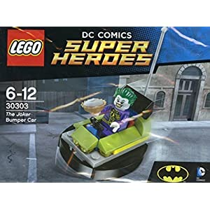 Lego DC Comics Super Heroes 30303 The Joker Bumper Car  LEGO