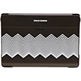 Samsung Diary Tasche Kirkwood Schwarz + Chevron EF-EP900BBEGWW für Samsung Galaxy Note Pro 12.2