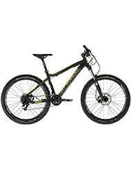 "DiamondBack Myers 1.0 - Bicicleta de enduro, color negro / verde flúor, 19"""