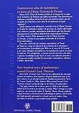 Image de Cuatrocientos años de matemáticas en torno al último teorema de Fermat (Cursos de verano)