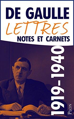 Livres Lettres, notes et carnets, tome 2 : 1919-1940 pdf, epub ebook