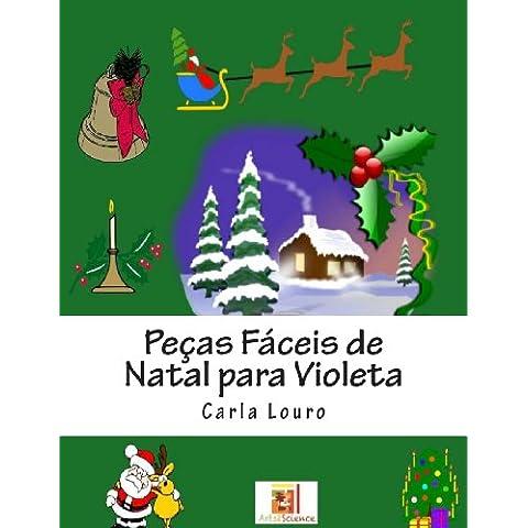 Pecas Faceis de Natal para Violeta