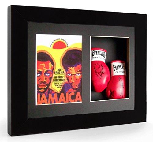 joe-frazier-george-foreman-jamaica-gants-de-boxe-miniature-encadre-affichage