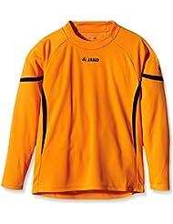 JAKO Torwarttrikot Joker ohne Nr. - Camiseta de portero de fútbol para niño, color naranja / negro, talla 8 años (128 cm)