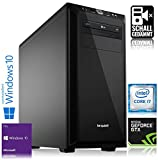 Memory PC High End Gaming Computer Intel PC Core i7-8700K 6x 3.7 GHz | ASUS STRIX Z370-F Gaming ROG | 32 GB DDR4 RAM | 500 GB M.2 ...