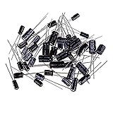 240 pcs 12 Values 1uF~470uF Assorted Electrolytic Capacitors Assortment Kit