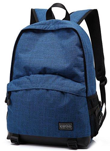 kayond® stile casual leggera in Nylon Laptop Bag/Cute Zaini/zaino scuola Blue
