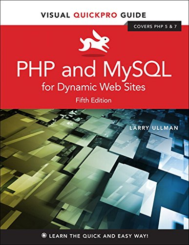 PHP and MySQL for Dynamic Web Sites: Visual QuickPro Guide (Visual QuickPro Guides) thumbnail