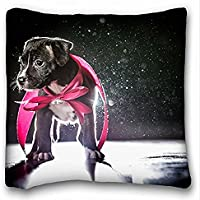 Decorativo Quadrato Throw Pillow Case animali cane
