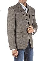Suit Direct Racing Green Callum Semi Plain Blazer - 0046166 Tailored Fit Blazer Dark Green 42R