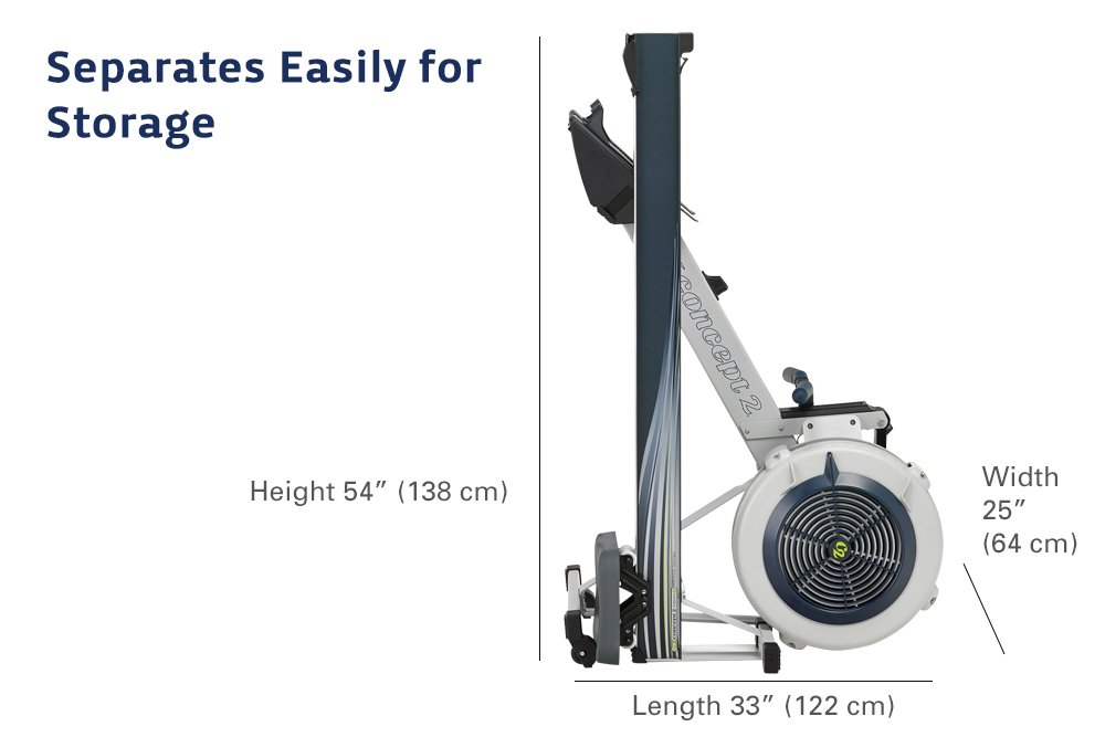 51BRbI3y6zL - Concept 2 Model D Indoor Rower with PM5 Monitor
