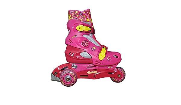 Betere Axer Kinder Inline-Skates, Rollschuhe, verstellbar, mit 3 Rollen II-52
