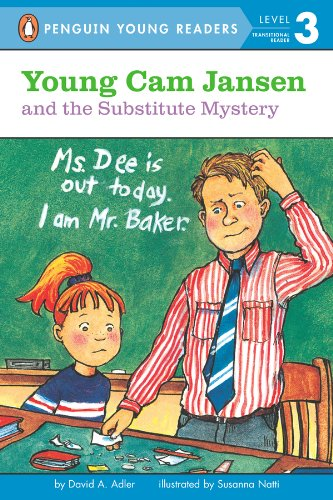 Young Cam Jansen and the Substitute Mystery (English Edition)