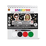 Snazaroo Mini Kit + Libretto Trucco Halloween Make Up Body Face Paint Truccabimbi