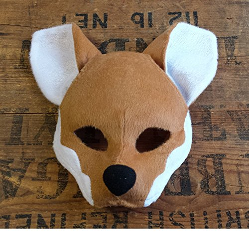 ing Anzug Maske auf Haarband mit Sound (Fuchs-maske Kostüm)