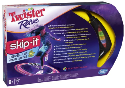 Hasbro - Twister Rave Skip-It  (in Italiano)