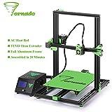 Tornado 3D Imprimante,TEVO 300*300*400mm Aluminium D'extrusion 3D imprimantes,De Haute Précision USB
