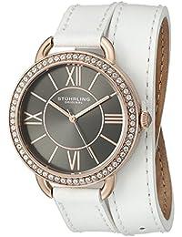 Stührling Original Reloj con movimiento cuarzo japonés Woman Deauville Sport 587 37 mm