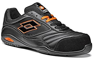 Scarpe antinfortunistiche Lotto Works ENERGY 500 S1P Nera (38, Nero)