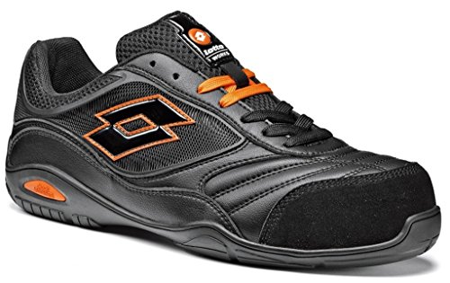 Scarpe antinfortunistiche Lotto Works ENERGY 500 S1P Nera (44, Nero)