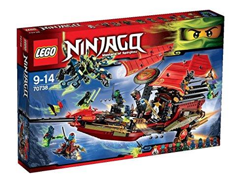 LEGO Ninjago - 70738 - Playthèmes - Jeu De Construction - L'ultime Qg Des Ninjas