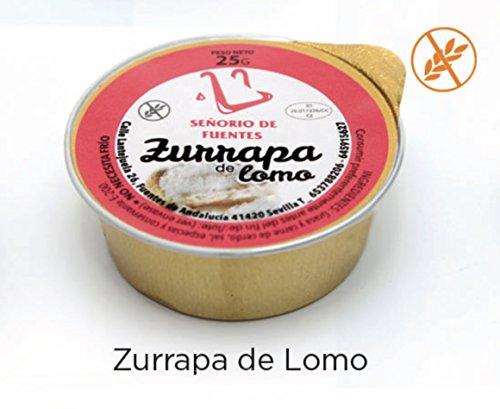 120 UD. DE ZURRAPA DE LOMO EN MONODOSIS DE 25G (Total 3kg)