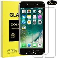 Panzerglas Schutzfolie für iPhone 7 iPhone 8-[2 Stück]DOSMUNG Panzerglasfolie für iPhone 7 8-3D Touch Kompatible, Schutz vor Wasser,Staub,Kratzern und Fingerabdruck, Displayschutzfolie für iPhone 7/8