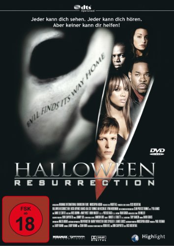 Halloween: Resurrection (Halloween Dvds)