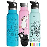 Best Insulated Water Bottle Straws - Vacuum Insulated Water Bottle with BPA Free Straw Review