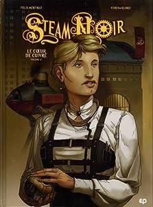 """Afficher """"Steam Noir n° 2<br /> Le coeur de cuivre"""""""