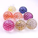 AK Stress Relief Slimy Shiny Jelly Type Mesh Morph Balls Set Of 4