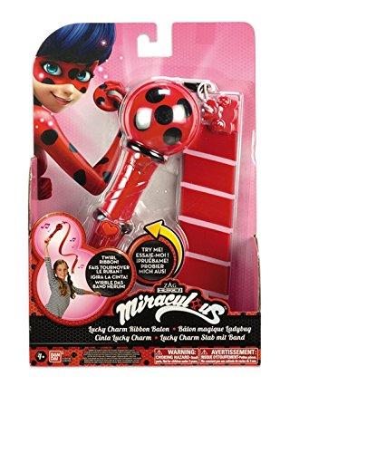 Prodigiosa: Las aventuras de Ladybug - Cinta Mágica Luckycharm (Bandai 39796)
