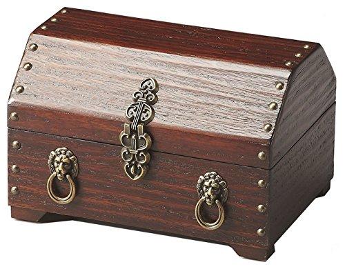 Butler 1852024Sausalito Jewelry Box, 9–1/5,1x 17,8cm X 6–1/5,1cm Plantation Cherry-Finish