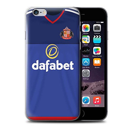 Offiziell Sunderland AFC Hülle / Case für Apple iPhone 6+/Plus 5.5 / Van Aanholt Muster / SAFC Trikot Home 15/16 Kollektion Torwart