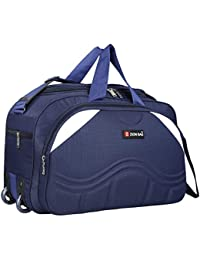 a8ce74529c4 Zion Bag Waterproof Polyester Lightweight 40 L Luggage Travel Duffel Bag  with 2 Wheels