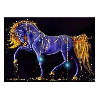 Full Diamond Rhinestone Painting ,Awakingdemi Mosaic Picture Horse 5D DIY Diamond Painting Cross Stitch Home Decoration