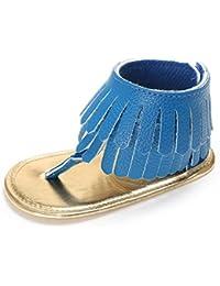 7c0bdcff057a6 ❤️Chaussures de Bébé Sandales, Amlaiworld Été Chaussures de Fille Enfant  Fleur Ssemelle Molle Sandales