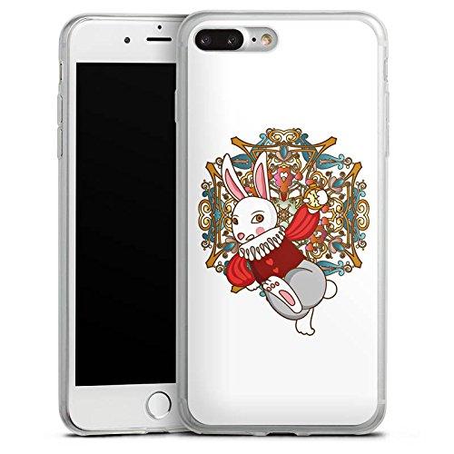 Apple iPhone X Slim Case Silikon Hülle Schutzhülle Hase Bunny Rabbit Silikon Slim Case transparent