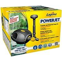 Laguna Pompa Power Jet Freeflo 11000–Pompa per cascate e fontana per laghetti da giardino fino a 22.000L, Nero