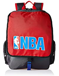 American Tourister Red Casual Backpack (DRIBBLE NBA BACKPACK _8901836116793)