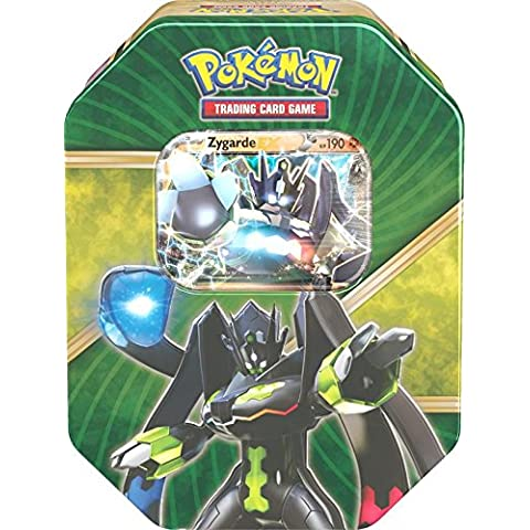 Pokemon 25861 – Tin 60 zygarde Caja de metal