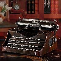 weiwei Modelo De Máquina De Escribir Retro, Arte De Máquina De Hierro Forjado Telégrafo Cafetería