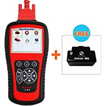 Autel Md802 OBD2/EOBD Scan Tool for Engine, ABS, Airbag, Auto Transmission, EPB, OIL Service Reset, Major Electronic Modules by Autel