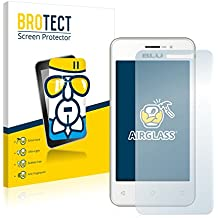 BROTECT AirGlass Protector Pantalla Cristal Flexible Transparente para BLU Neo Energy Mini Protector Cristal Vidrio - Extra-Duro, Ultra-Ligero, Ultra-Claro