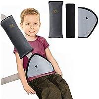 Rovtop 3 Packs Almohadillas para cinturón Cojín de almohadillas protectores Cobertores Desmontable y lavable Cojín de viaje Fundas de cinturón cómodos Cinturones de seguridad Fundas de almohadillas protectoras de hombro