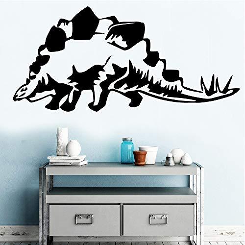 yaonuli Autocollants muraux de Dinosaure de Couleur Décoration de Chambre pour Enfants Mobile 45x96cm