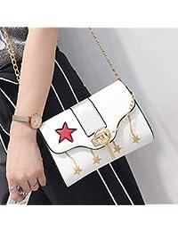 Borse Amazon it Scarpe borse e Stella Donna Bianco SSIAwB