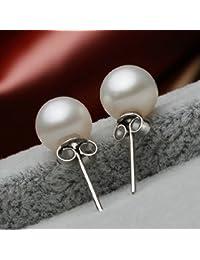 1610c085b67f Amazon.es  Perla - Pendientes   Mujer  Joyería